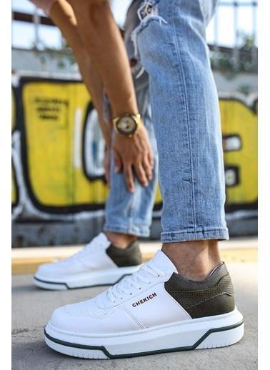 Chekich CH075 ıpekyol Beyaz Taban Erkek Ayakkabı BEYAZ / HAKı Beyaz
